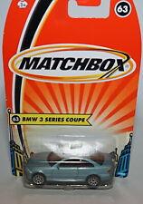 Matchbox Superfast H5858 No 63 BMW 3 Series Coup - Still Sealed