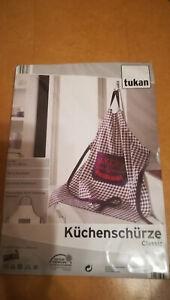 Küchenschürze Bakery, lila kariert, NEU, ca. 70x85 cm,100% Baumwolle Marke Tukan