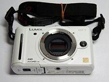 Dmc-Gf1 White Panasonic Lumix Body Used
