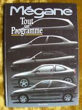 """@ Document RENAULT MEGANE 1 - livre neuf - """" TOUT UN PROGRAMME """" 09 / 1995"""