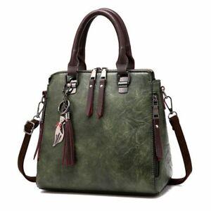 Women Handbags Soft PU Leather Shoulder Crossbody Tote Bags Fashionable Purses