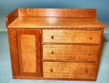 SHAKER PINE WASH STAND HANDCRAFTED MUSEUM MINIATURE 6704 DOLLHOUSE FURNITURE