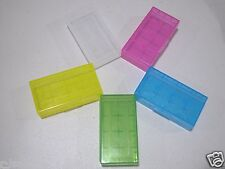 10 pieces  PLASTIC STORAGE CASE HOLDER BOX For 18650 16340 CR 123A BATTERY