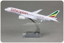 20CM Solid Ethiopian Airlines BOEING 787 Passenger Airplane Plane Diecast Model