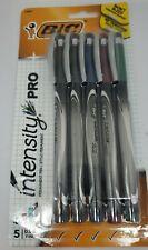 Bic Intensity 5 Pack Assorted Fine Felt Tip Marker Pens 18881