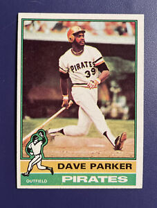1976 TOPPS #185 DAVE PARKER PITTSBURGH PIRATES  *FREE SHIPPING*