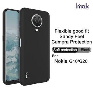 For Nokia G10 / G20 / X20 X10 IMAK Slim Frost Soft Gel TPU Back Cover phone case