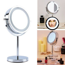 5X Magnifying Mirror Shaving LED Illuminated Beauty Makeup Cosmetic Face Care UK