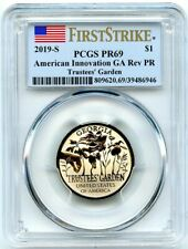 2019-S American Innovation Rev Proof Dollar Georgia PCGS PR-69 First Strike!