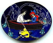 Disney's Soda Fountain - The Little Mermaid DVD Pre-Sale GWP Pin (Ariel & Eric)