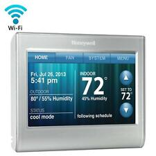 9168 Honeywell Wi-Fi 9000 Touchscreen Thermostat Silver