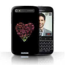 Étuis, housses et coques noirs BlackBerry Q20 pour téléphone mobile et assistant personnel (PDA) Blackberry