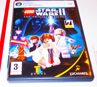 LEGO Star Wars II 2 The Original Trilogy PC CD-ROM COMPLETE IN BOX CIB Windows 7