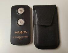 Minolta IR Remote control RC-3,Cameras,photography (b23)