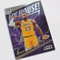Lebron James Panini Optic My House 2019-2020 #13 LA Lakers NBA Basketball Card