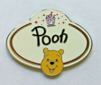 Disney Pin Badge HKDL - Name Tag Mystery Collection - Winnie the Pooh Only
