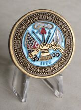 """United States U.S Department Of The Army """"Army Of One""""  Challenge Coin"""