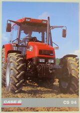 prospectus brochure tracteur CASE IH CS 94 tractor traktor prospekt trattore