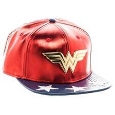 Cappello Wonder Woman Logo snap back Cap Hat DC Comics originals
