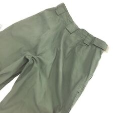RUSTY Green Snowboarding Pants Size 28 Adjustable Waist