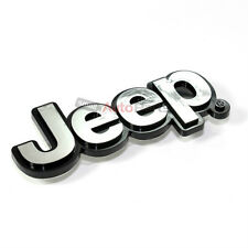 Jeep Chrome Abs 3d Emblem Badge Nameplate Letters For Front Hood Or Rear Trunk Fits 2012 Jeep Patriot