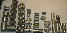 Large lot of Stainless Steel Socket Weld Fittings    *** FREE SHIPPING***