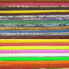 1 Metro de Cuero Media Caña 10mm C01 Bisuteria Fornituras Abalorios Leather