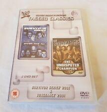 WWE Tagged Classics Survivor Series 2001 & Vengeance 2001 DVD