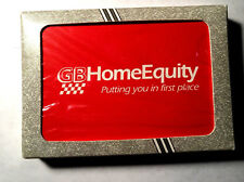 GB Home Equity Liberty Crusader Playing Cards New in Package Advertising