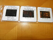 1998 British Sci-Fi TV Ultraviolet 3 Press Slides SYFY Idris Elba Stephen Moyer