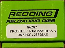 86282 REDDING 38 SPECIAL 357 MAGNUM PROFILE CRIMP DIE - BRAND NEW - FREE SHIP