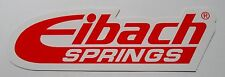 EIBACH SPRINGS STICKER DECAL CAMARO MUSTANG CHALLENGER HONDA NISSAN TOYOTA ACURA
