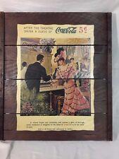 Collectible Raisin Rack Coca Cola Vintage Advertising Piece