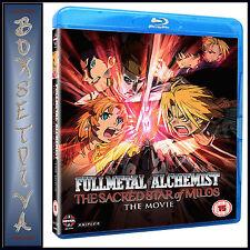 FULLMETAL ALCHEMIST BROTHERHOOD MOVIE 2: SACRED STAR OF MILOS ** NEW BLU-RAY
