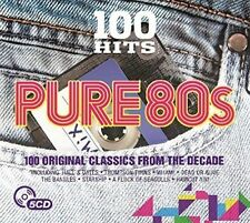 100 Hits Pure 80s 5 CD Set 2016