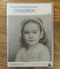 Portrait Drawing Workshop Children DVD Art Pencil Drawing How-To Maureen Killaby