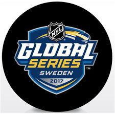 2017 SAP NHL Global Series Souvenir Hockey Puck Colorado Avalanche vs Ottawa