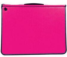 Mapac Premier Portfolio with Rings - Fuchsia Pink - A4