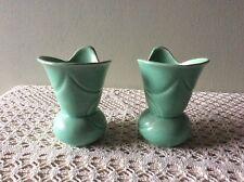 Retro Crown Devon Small Ceramic Vases x 2