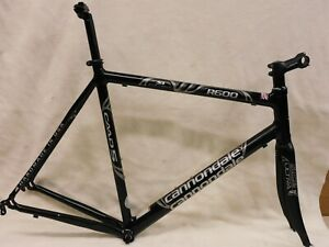56 cm Cannondale R600 SI Frame Carbon Slice Fork Ritchey HS, Stem, Seat Post, BB