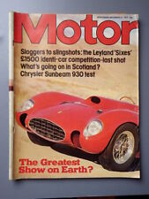 Motor Cars, 1970s Magazines