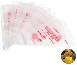 30x25x17cm Master Plastic Disposable Icing Piping Cake Pastry Bags UK 1|5|10|25