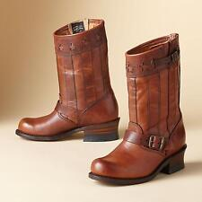 FRYE SHOES ENGINEER AMERICANA SHORT BOOTS 75154 TAN 7 NEW 150TH ANNIVERSARY $690