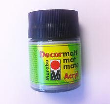 Marabu Decormatt acryl 50 ml-Argent métallisé