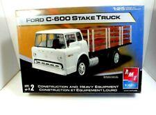 AMT Ertl  Ford C-600 Stake Truck 1:25 Scale Plastic Model Kit Skill 2 10+ Sealed