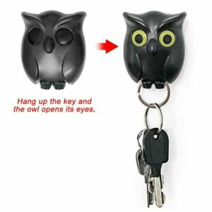 Magnetic Wall Key Holder Magnets Night Owl Hanging Home Decoration Accessories