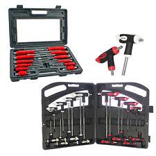 Mechanics Engineers Screwdriver Set + T Handle Kit Allen Key Heavy Duty