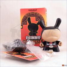 Kidrobot Dunny 2011 Azteca series Jose M Torre -  Black Mariachi vinyl figure
