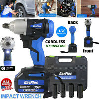 1/2 inch Impact Wrench Cordless Battery 21 Volt Craftsman High Torque Detent Pin