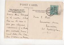 Miss E Bell Edwalton House Edwalton Nottingham 1904 153b